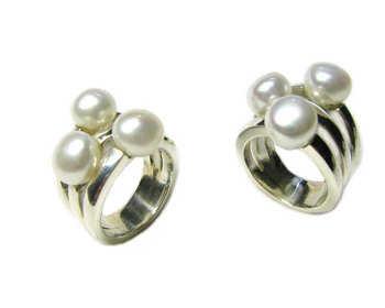 anillos perlas