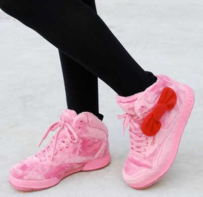 e995d3d6 Reebok PT20, las zapatillas de Hello Kitty   Estilo Total