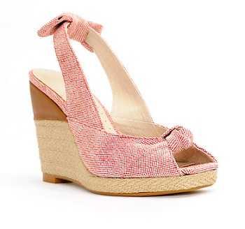Zapatos Tacon Rosa Palo Mango