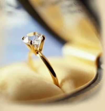 ba69d8864bf2 El aro  el anillo de compromiso a través de los años
