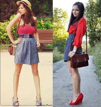 9136401ac Incluso puedes usar la tendencia de los lunares, que nunca pasa de moda, en  los zapatos o en la ropa.