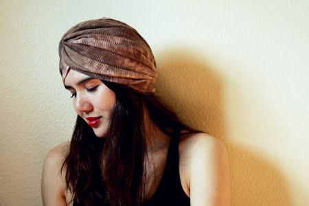 Tutorial de turbantes de moda