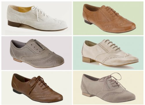 eef91927a61ce Cómo llevar los zapatos flats tipo oxford