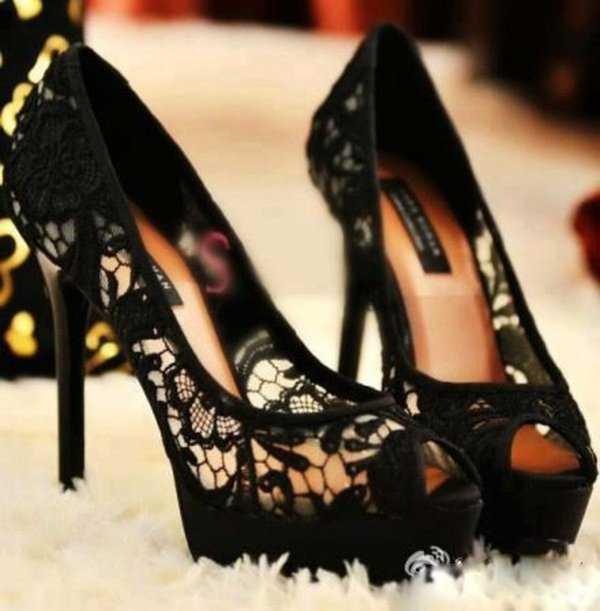 Zapatos color negro ¡Básico!