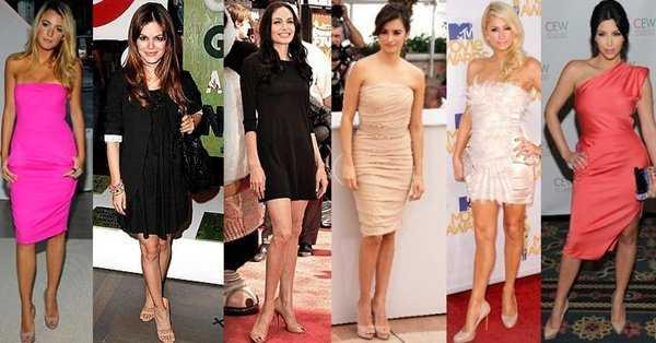 Diferentes outfits con zapatos nude