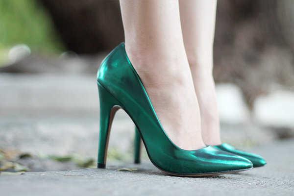 ¡El verde también está de moda!