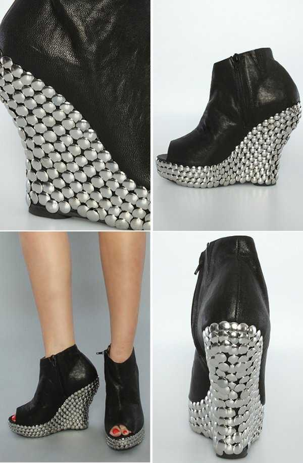 ¡Glamour! Me encanta los zapatos con tachas