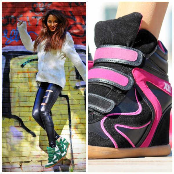 Zapatillas con plataforma Xti