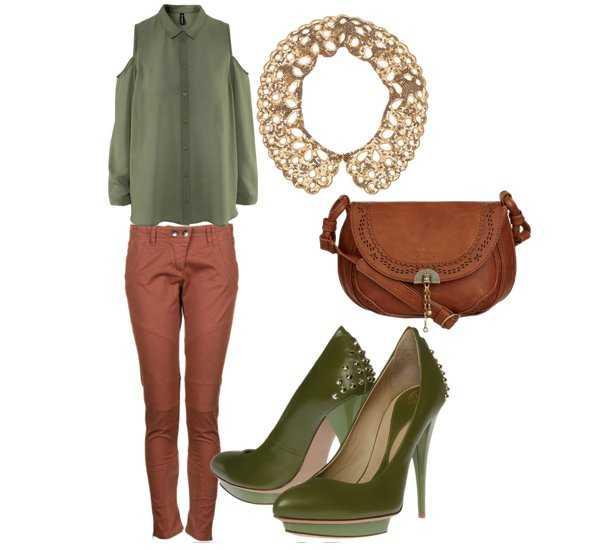 Cmo combinar tus zapatos verdes Estilo Total